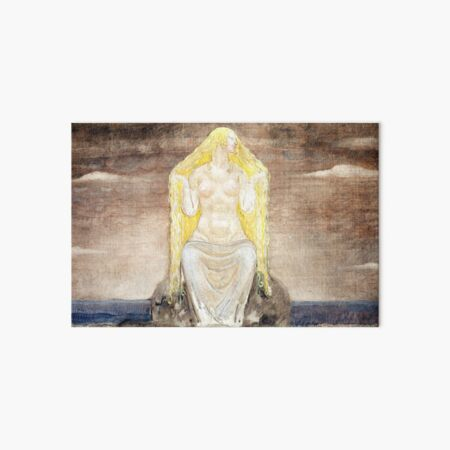 Freya - John Bauer Art Board Print
