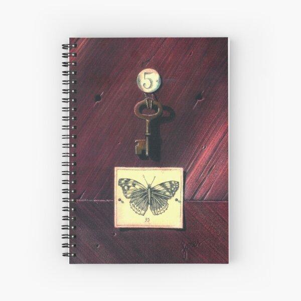 Key 5 Spiral Notebook