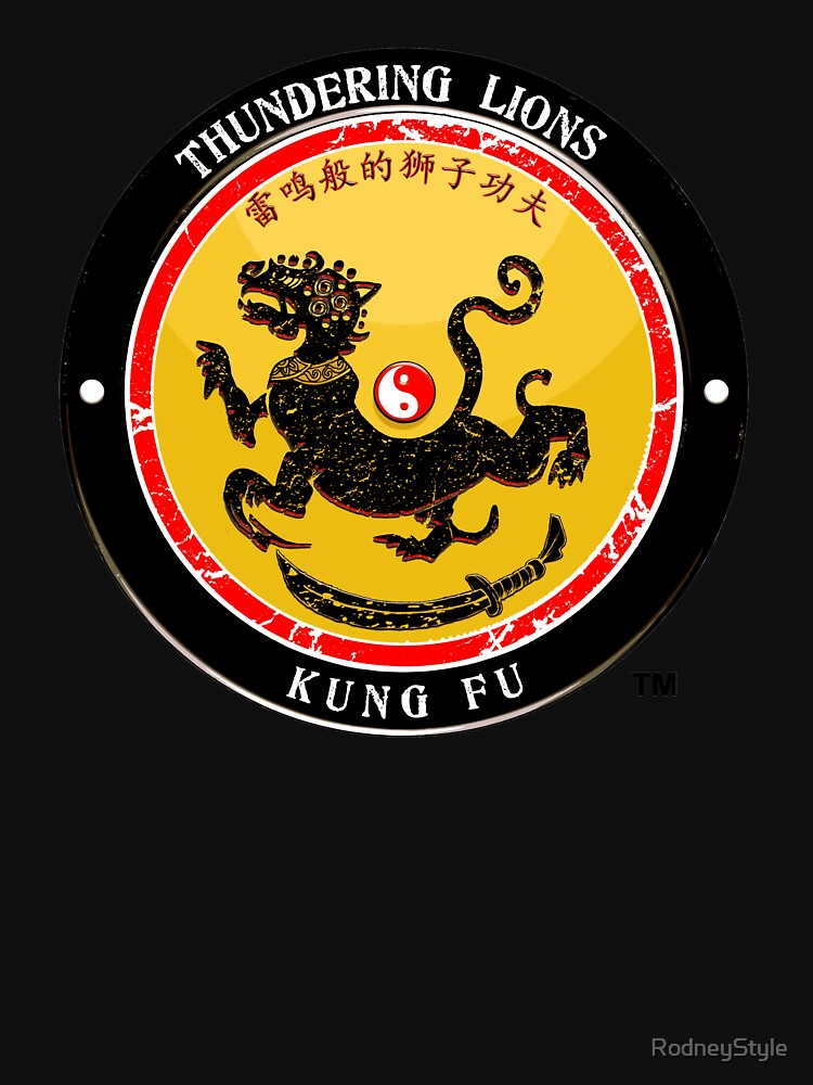 Thundering Lions Kung Fu School Shirt by RodneyStyle