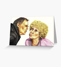 Strong Characters of Coronation Street : Jack and Vera Greeting Card