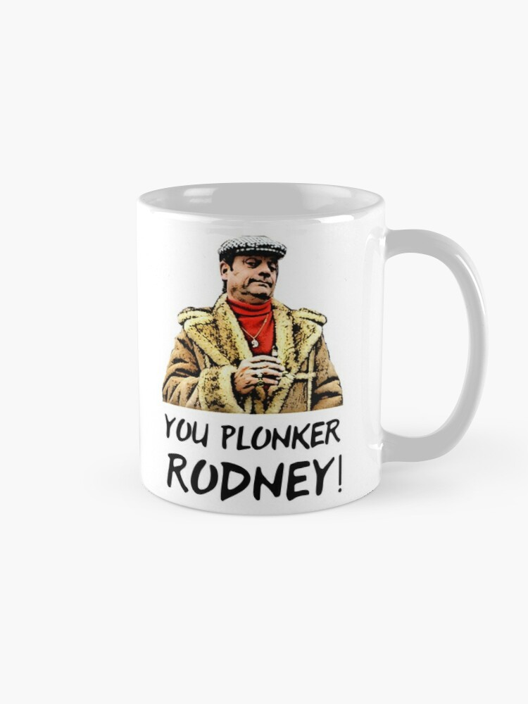 Alternate view of You Plonker Rodney Only Fools and Horses Mug