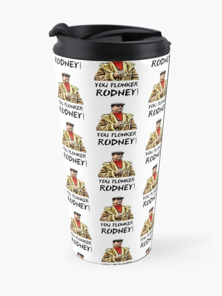 Alternate view of You Plonker Rodney Only Fools and Horses Travel Mug