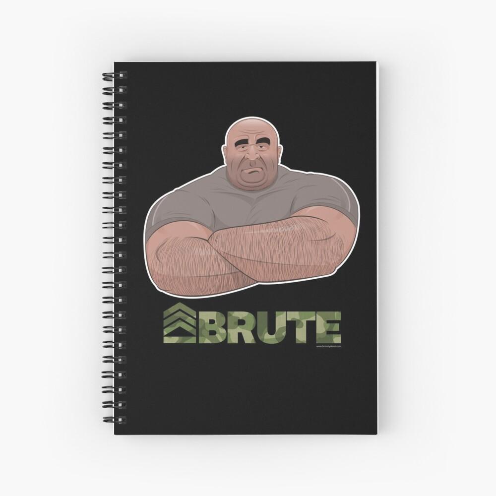 Strongman Spiral Notebook