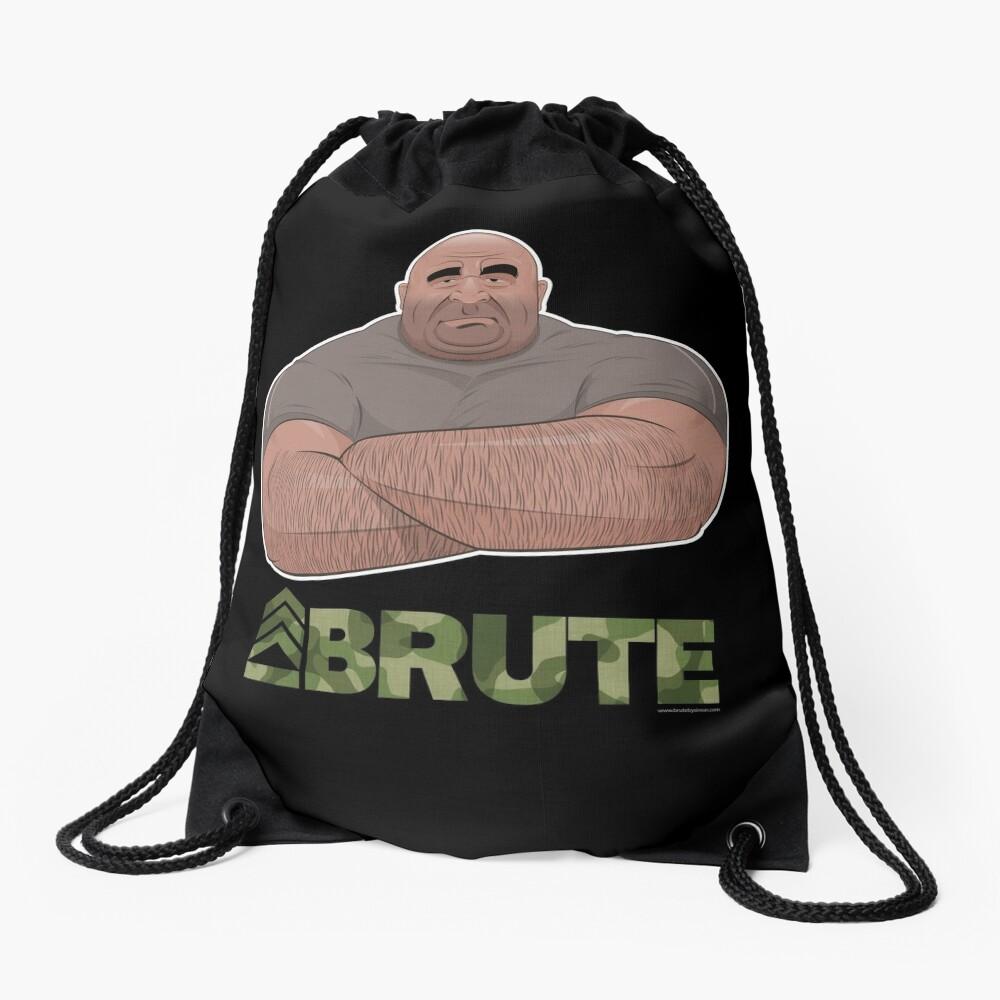 Strongman Drawstring Bag