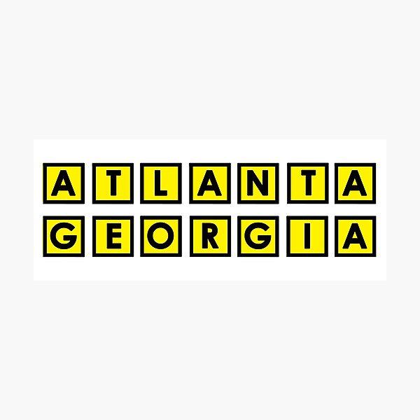 Atlanta Georgia Photographic Print