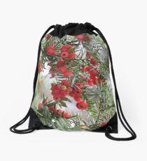Merry Drawstring Bag