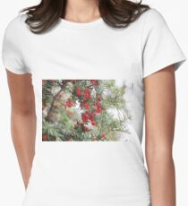 Merry Women's Fitted T-Shirt