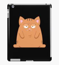 Sarkastische Katze iPad-Hülle & Klebefolie