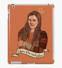 Molly Hooper: Queen of his mind palace iPad Case/Skin