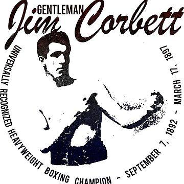 James Corbett Boxing - Gentleman Jim - Heavyweight Champion by nostalgiagame