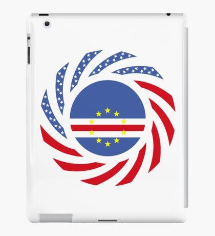 Cape Verdean American Multinational Patriot Flag Series 1.0 iPad Case/Skin