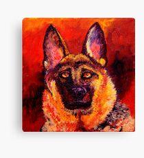 German Shepherd Canvas Print