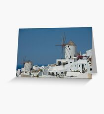 Greek Beauty Greeting Card
