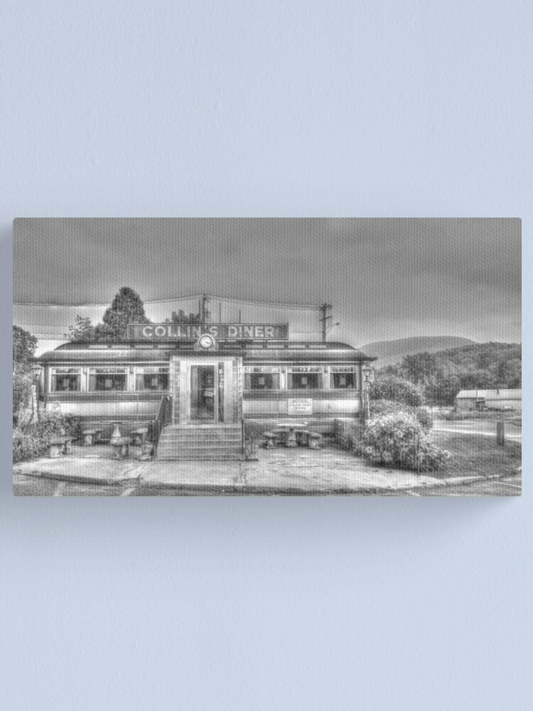 Alternate view of Collins Diner Canvas Print