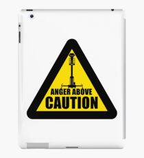 Caution... iPad Case/Skin