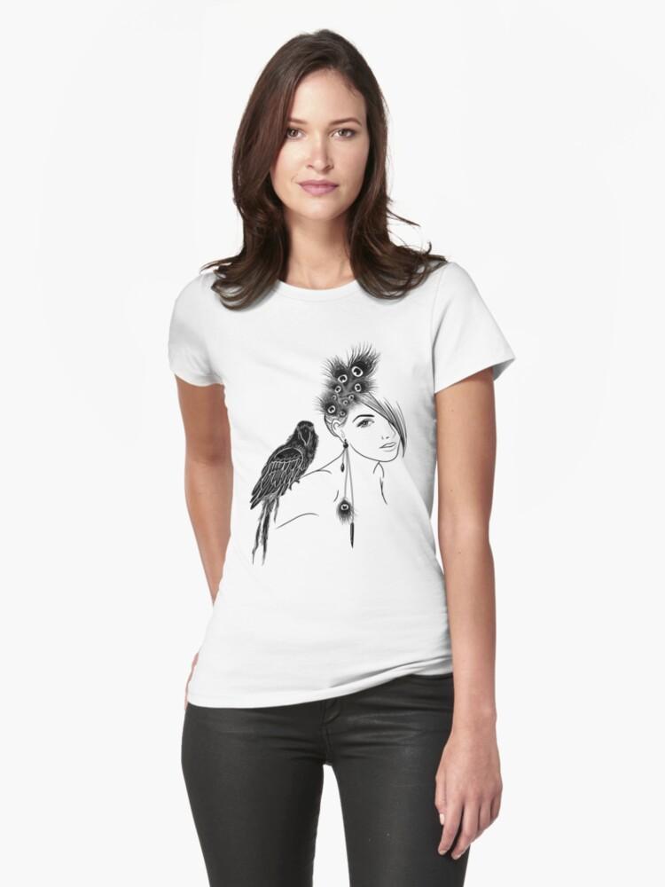 Parrot Girl 2 by Vivian Lau
