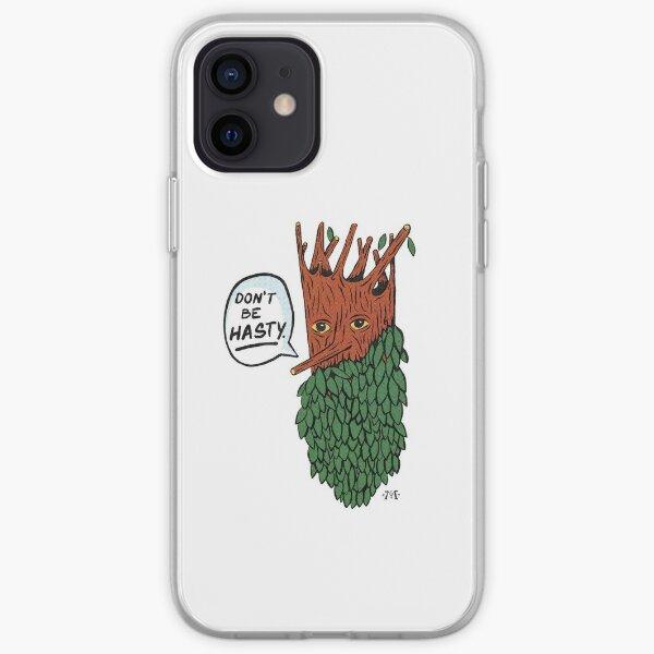 Barba de árbol Funda blanda para iPhone