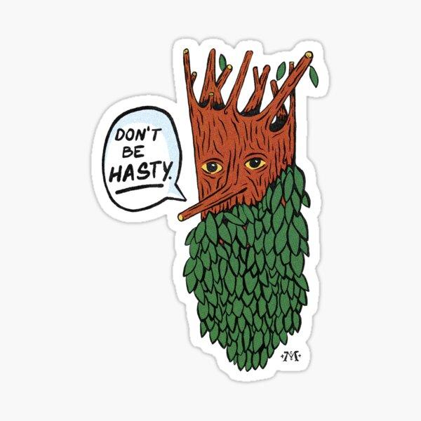 Barba de árbol Pegatina