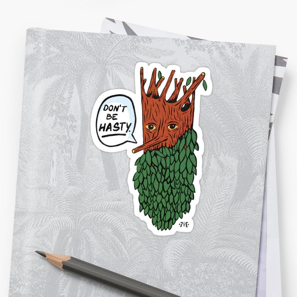 Baumbart Sticker