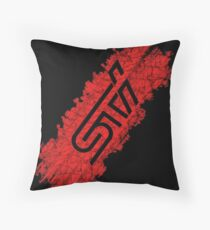 WRX STI Tire Throw Pillow