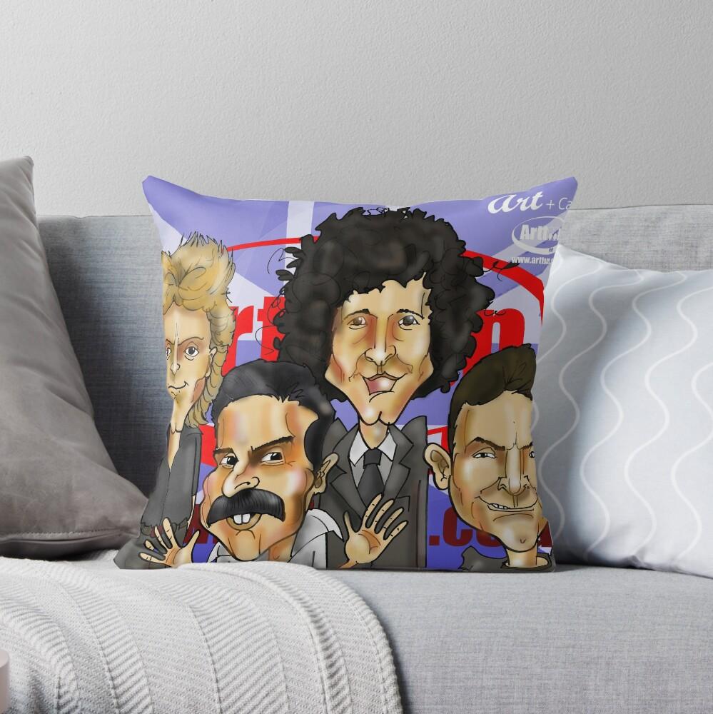Artsody Throw Pillow