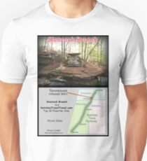 Glenrock Branch on the Natchez Trace Parkway. Slim Fit T-Shirt