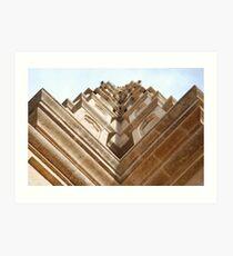 Aspect of Palma cathedral. Art Print