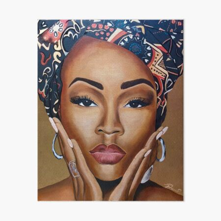 Brown Skin Art Board Print