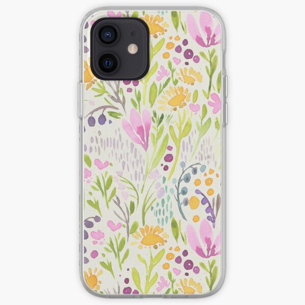 Tiny flowers iPhone Soft Case