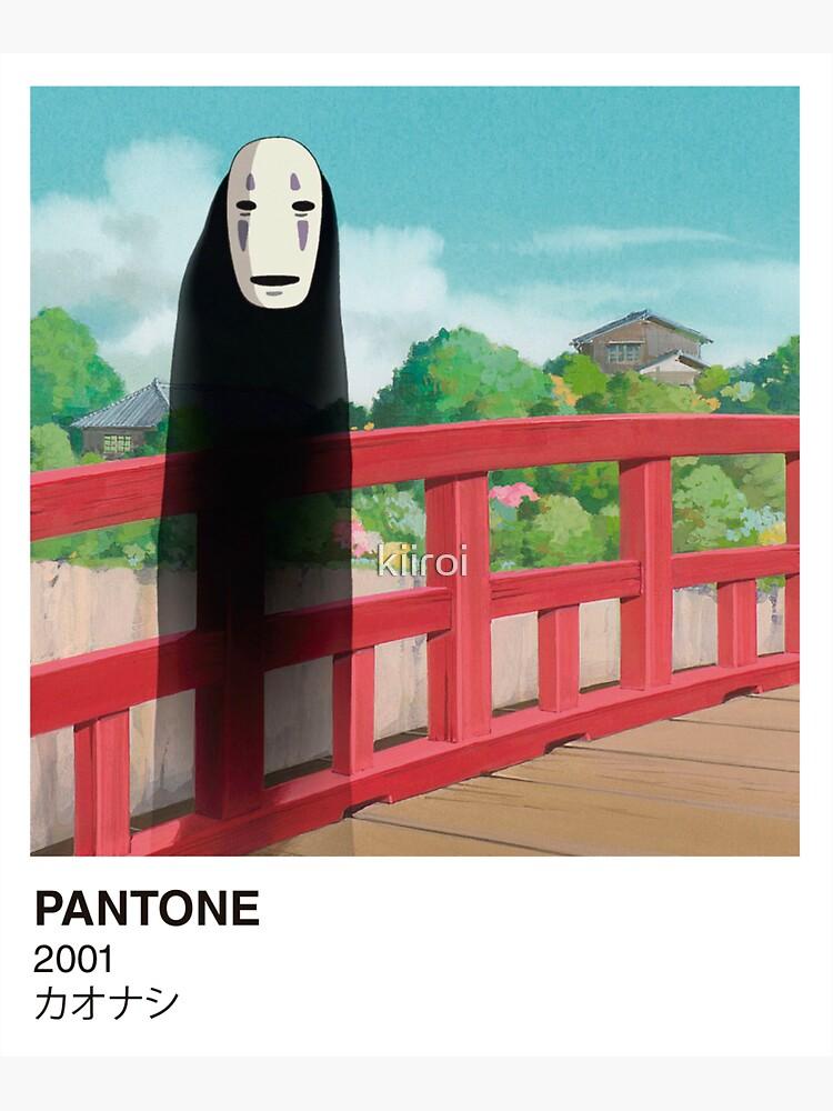 PANTONE No-Face von kiiroi