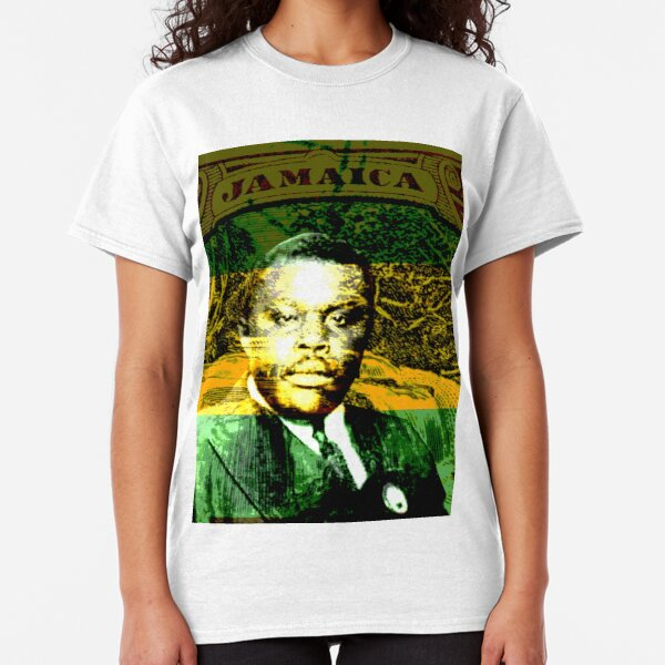 Marcus Garvey Jamaican Freedom Fighter Classic T-Shirt
