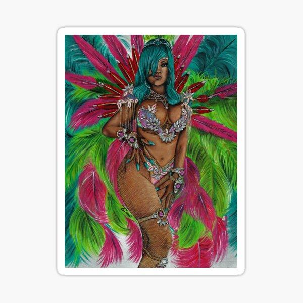 Queen of Carnival Sticker
