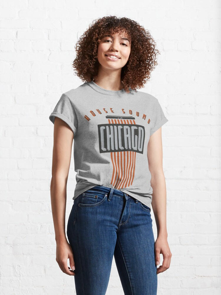 Alternate view of House Sound Of Chicago Classic T-Shirt