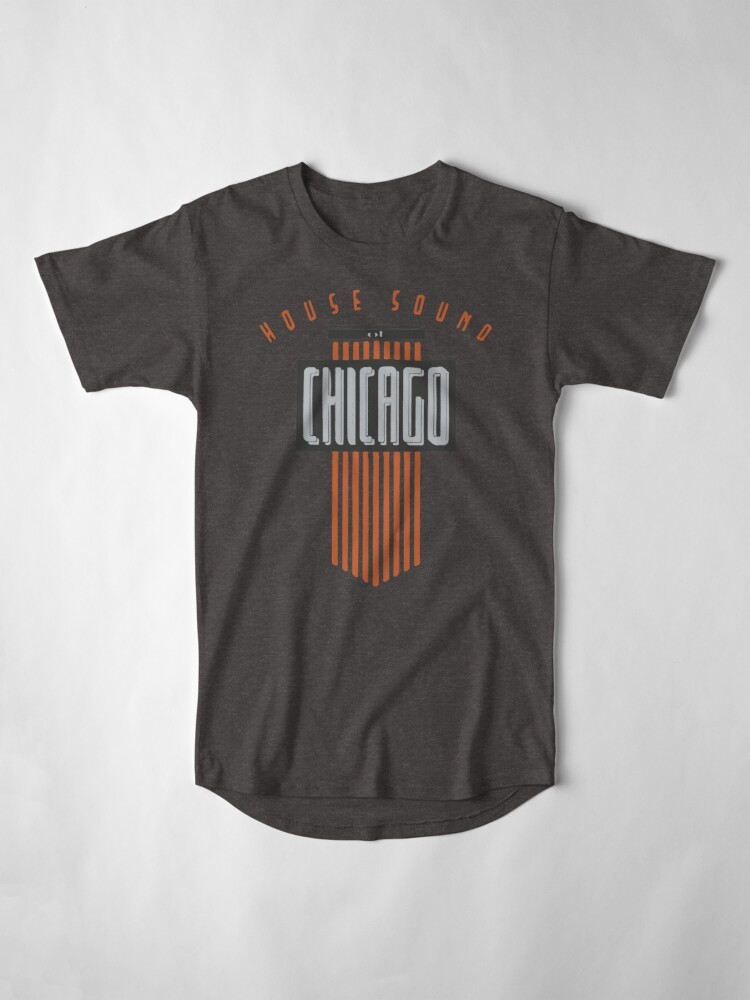 Alternate view of House Sound Of Chicago Long T-Shirt