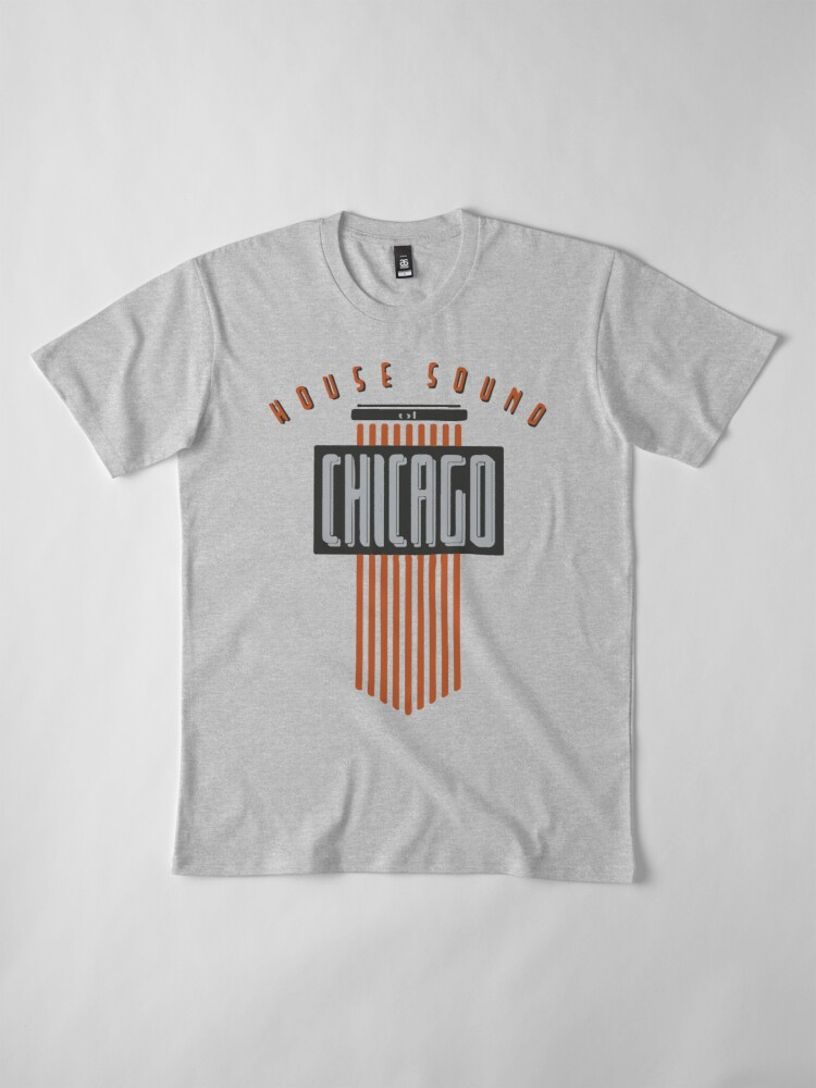 Alternate view of House Sound Of Chicago (one) Premium T-Shirt