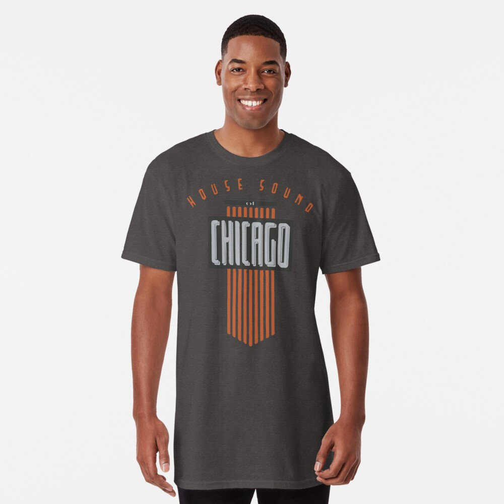 House Sound Of Chicago (one) Long T-Shirt