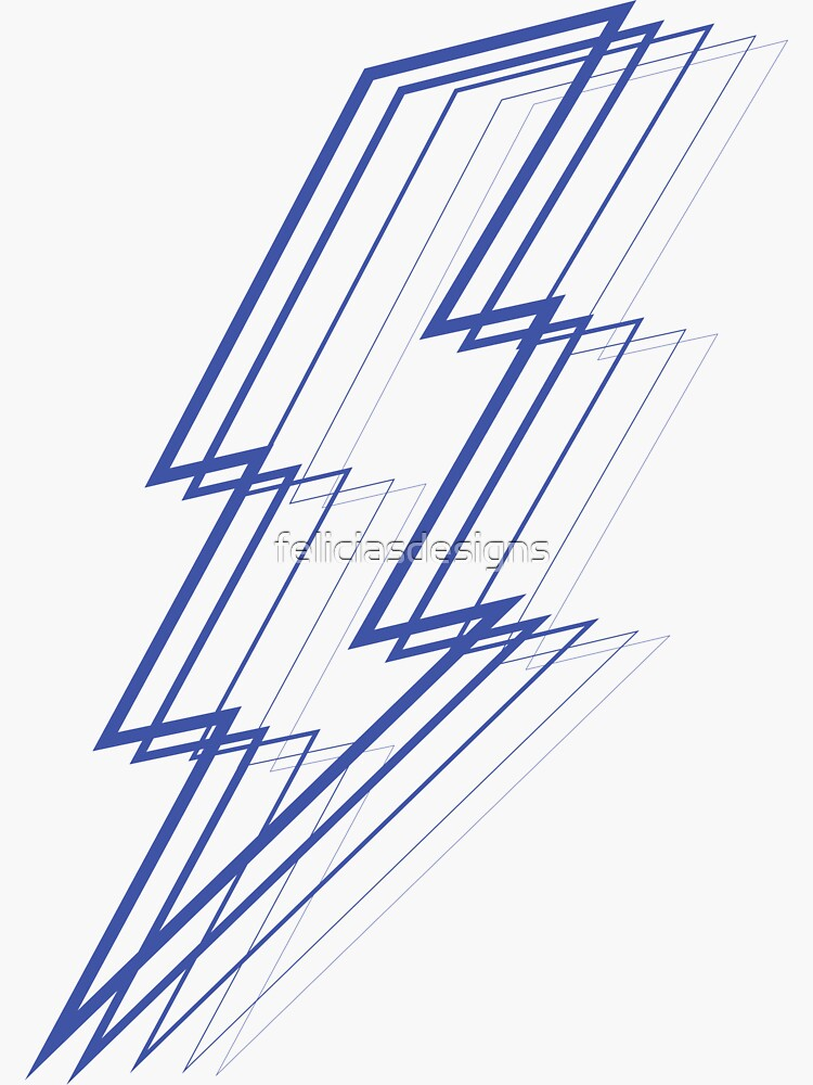 Blue Lightning by feliciasdesigns