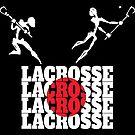 Lacrosse Japan Japanese Lacrosse by SportsT-Shirts