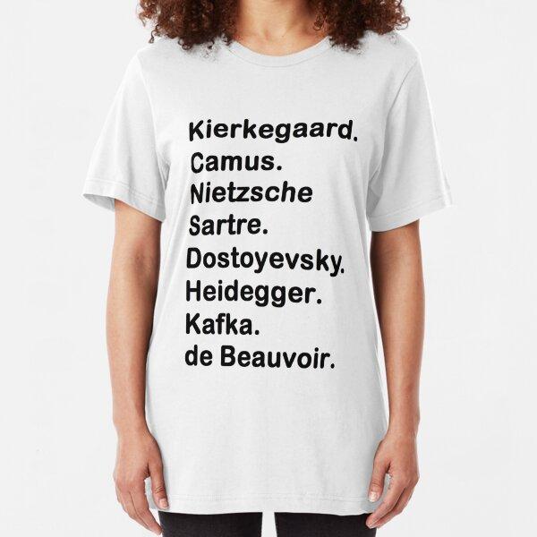 Existentialist Slim Fit T-Shirt