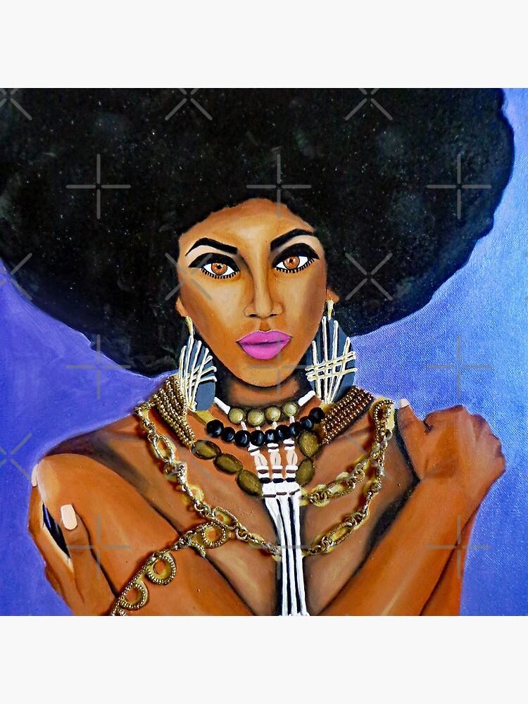 Afro Goddess by AtlArtVibez