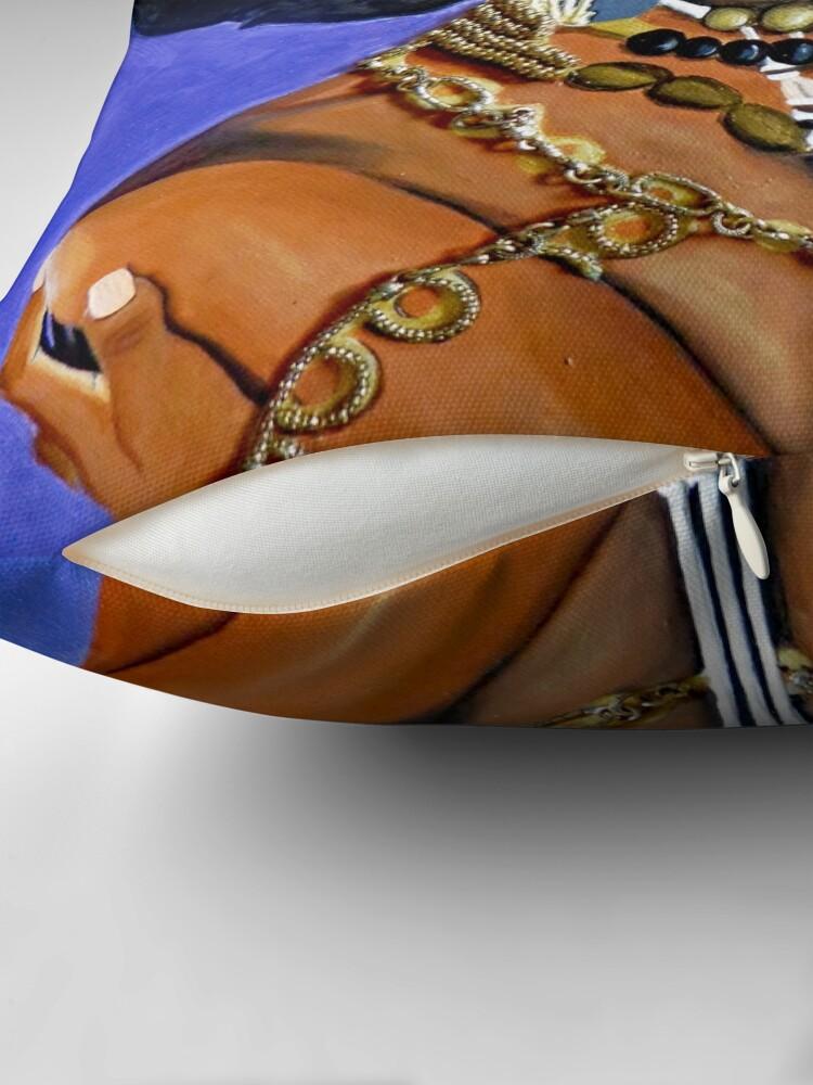 Alternate view of Afro Goddess Throw Pillow