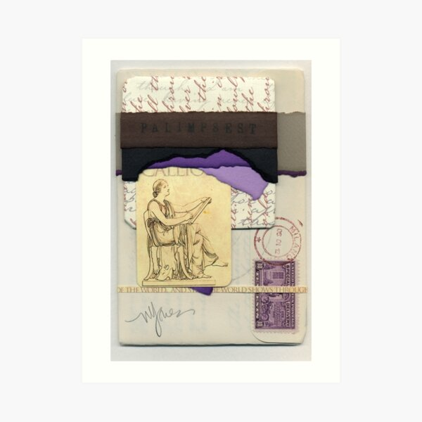 Palimpsest Art Print