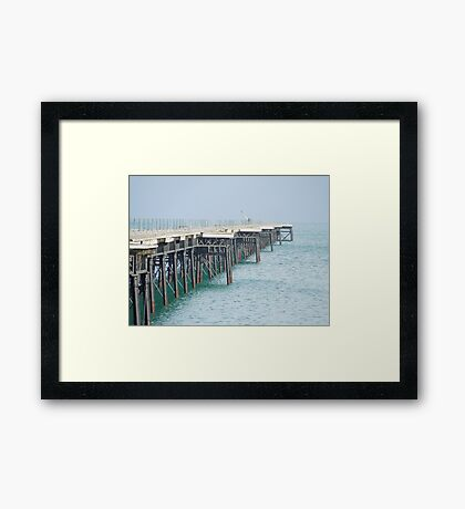 Queen's Pier, Ramsey, Isle of Man Framed Print