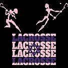 Lacrosse Israel Israelian Lacrosse by SportsT-Shirts