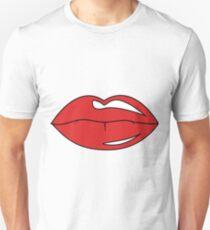 Üppige Lippen Unisex T-Shirt