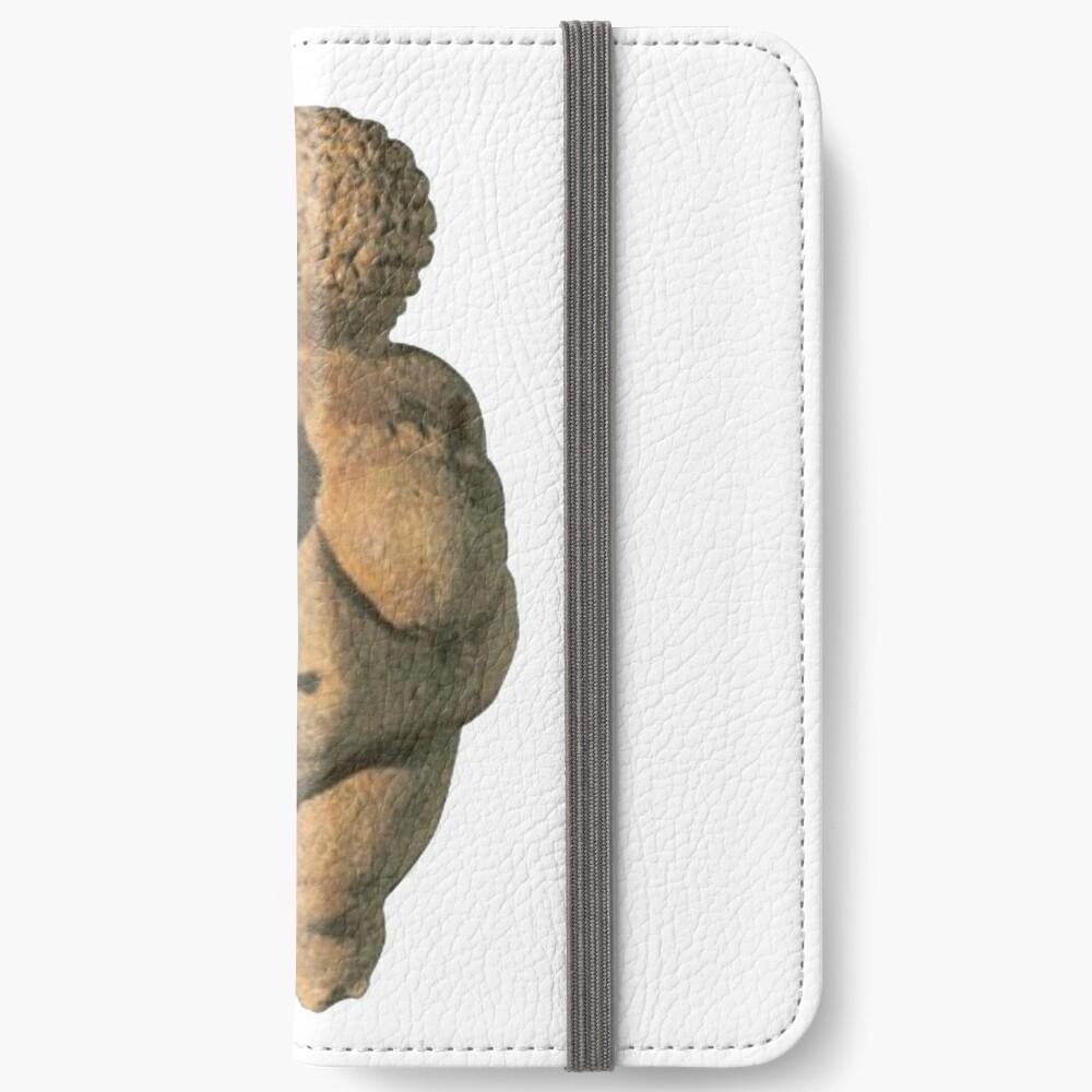 #Venus of #Willendorf #artifact sculpture art figurine statue humanbody #VenusofWillendorf iPhone Wallet