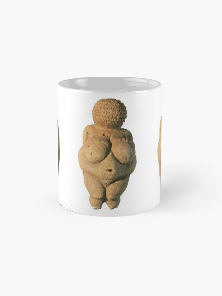 Alternate view of #Venus of #Willendorf #artifact sculpture art figurine statue humanbody #VenusofWillendorf Mug