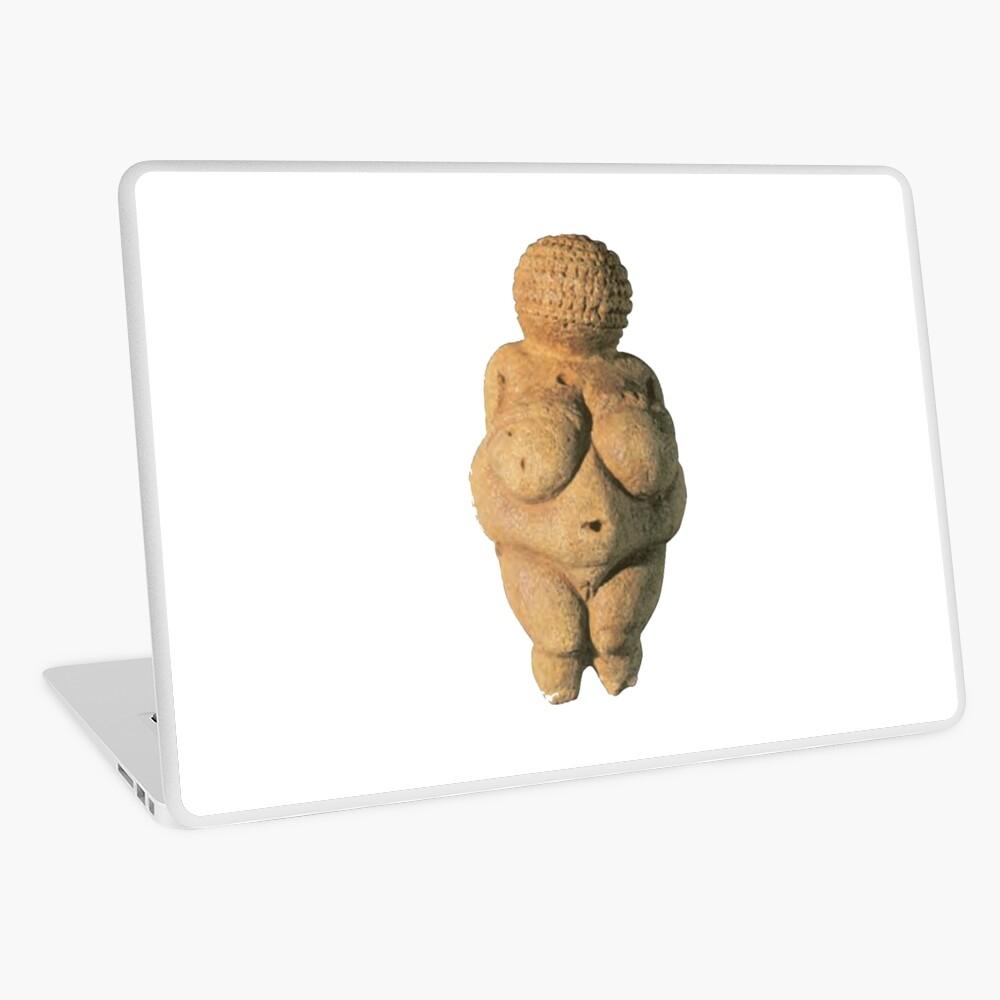 #Venus of #Willendorf #artifact sculpture art figurine statue humanbody #VenusofWillendorf Laptop Skin
