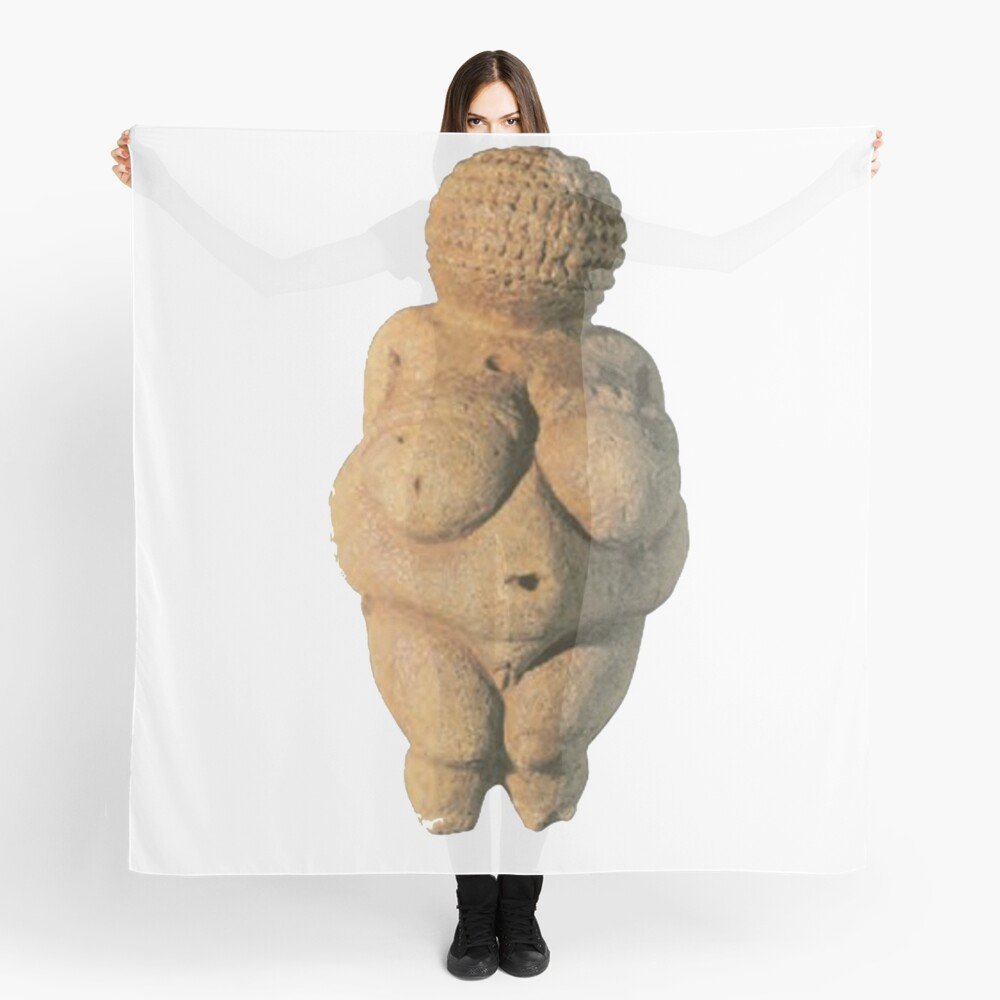 #Venus of #Willendorf #artifact sculpture art figurine statue humanbody #VenusofWillendorf Scarf