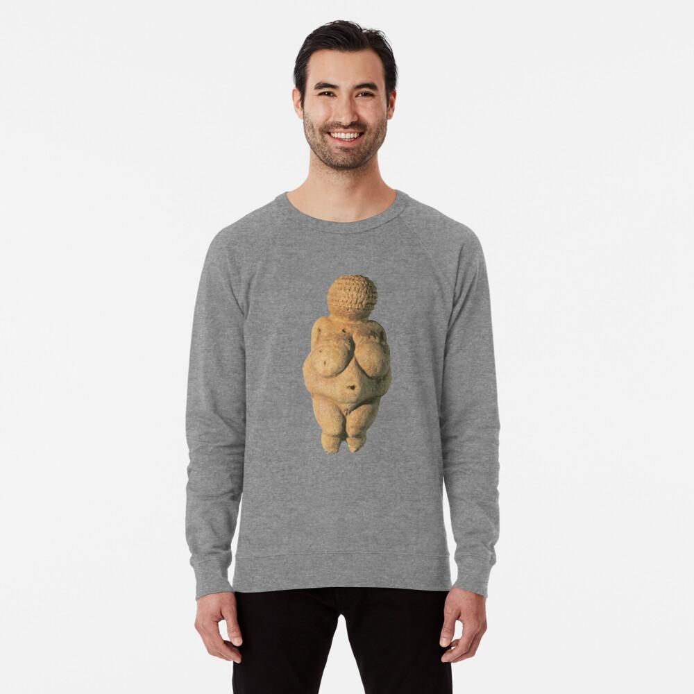 #Venus of #Willendorf #artifact sculpture art figurine statue humanbody #VenusofWillendorf Lightweight Sweatshirt